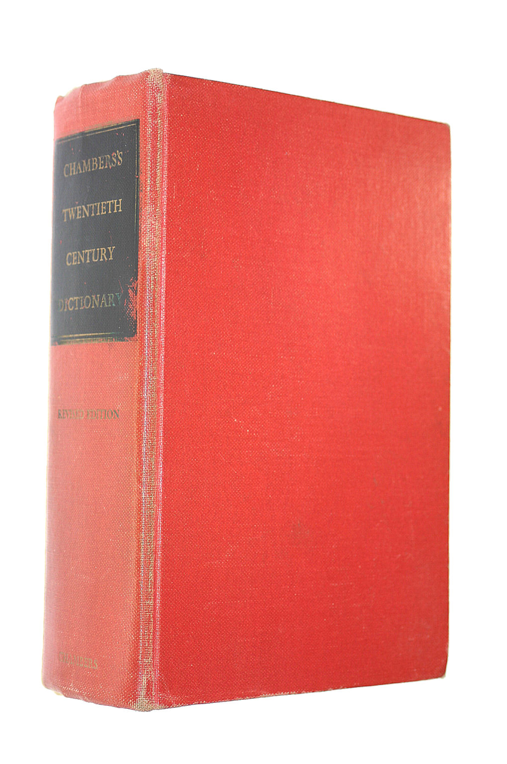 Image for Chambers'S Twentieth Century Dictionary