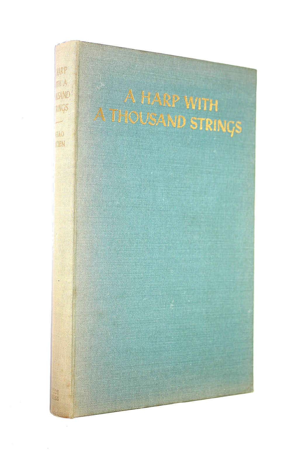 Image for A Harp With A Thousand Strings: A Chinese Anthology