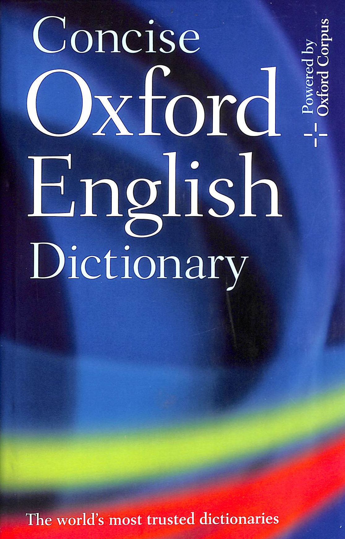 Image for Concise Oxford English Dictionary: 11Th Edition Revised 2008