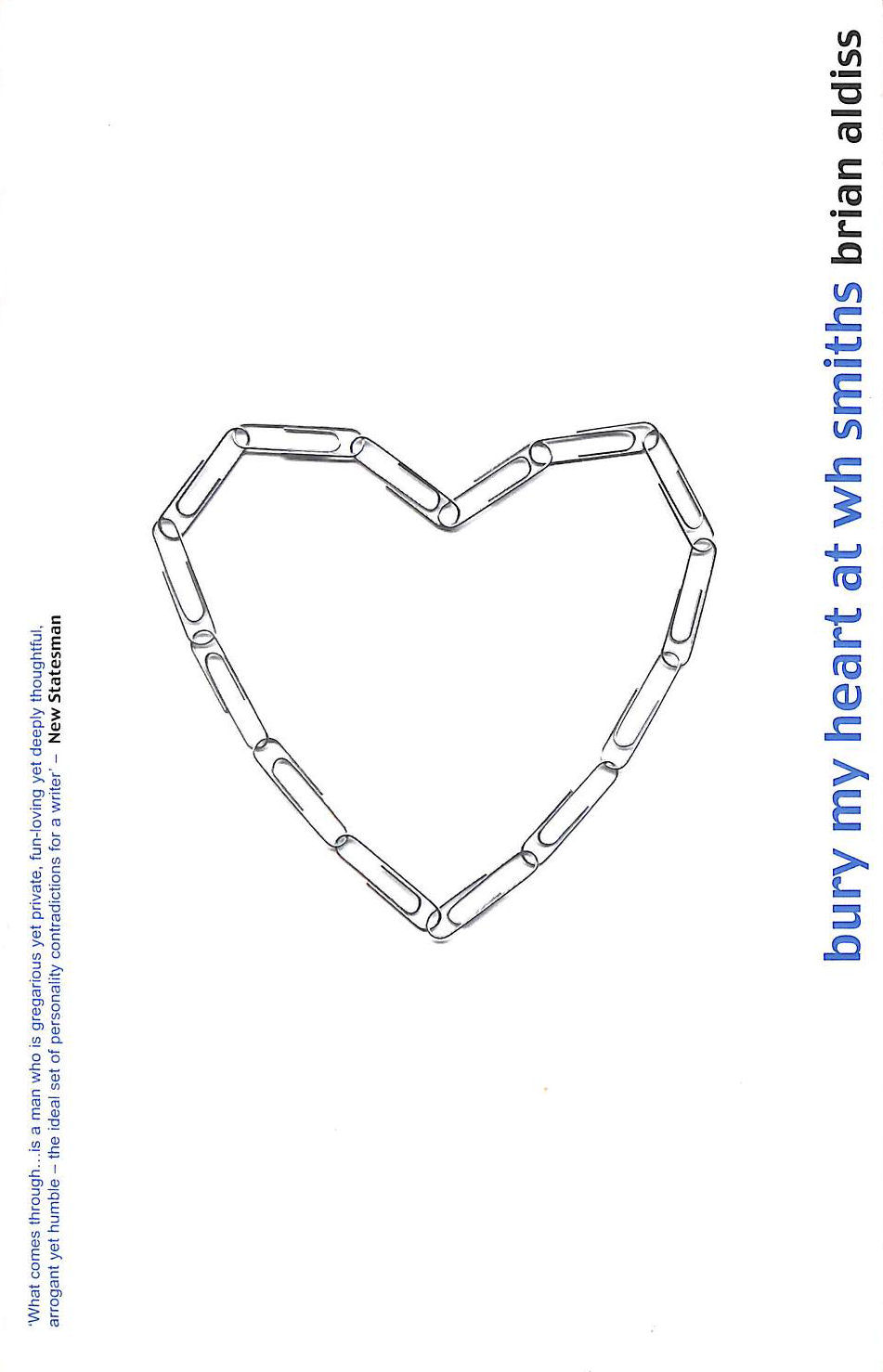 Image for Bury My Heart At W.H.Smiths