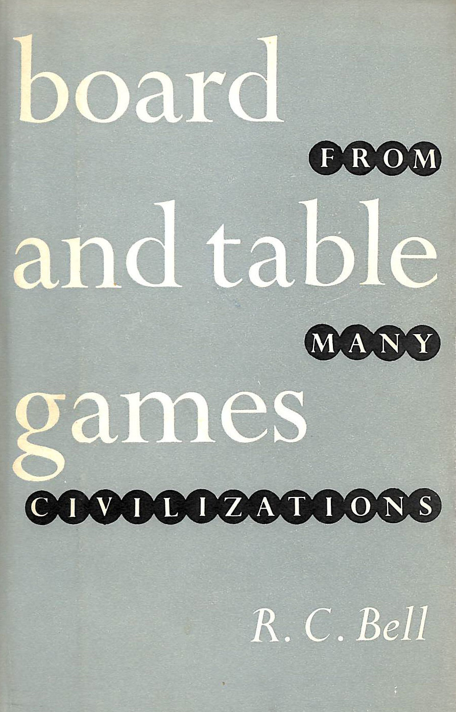 Image for Board And Table Games From Many Civilizations