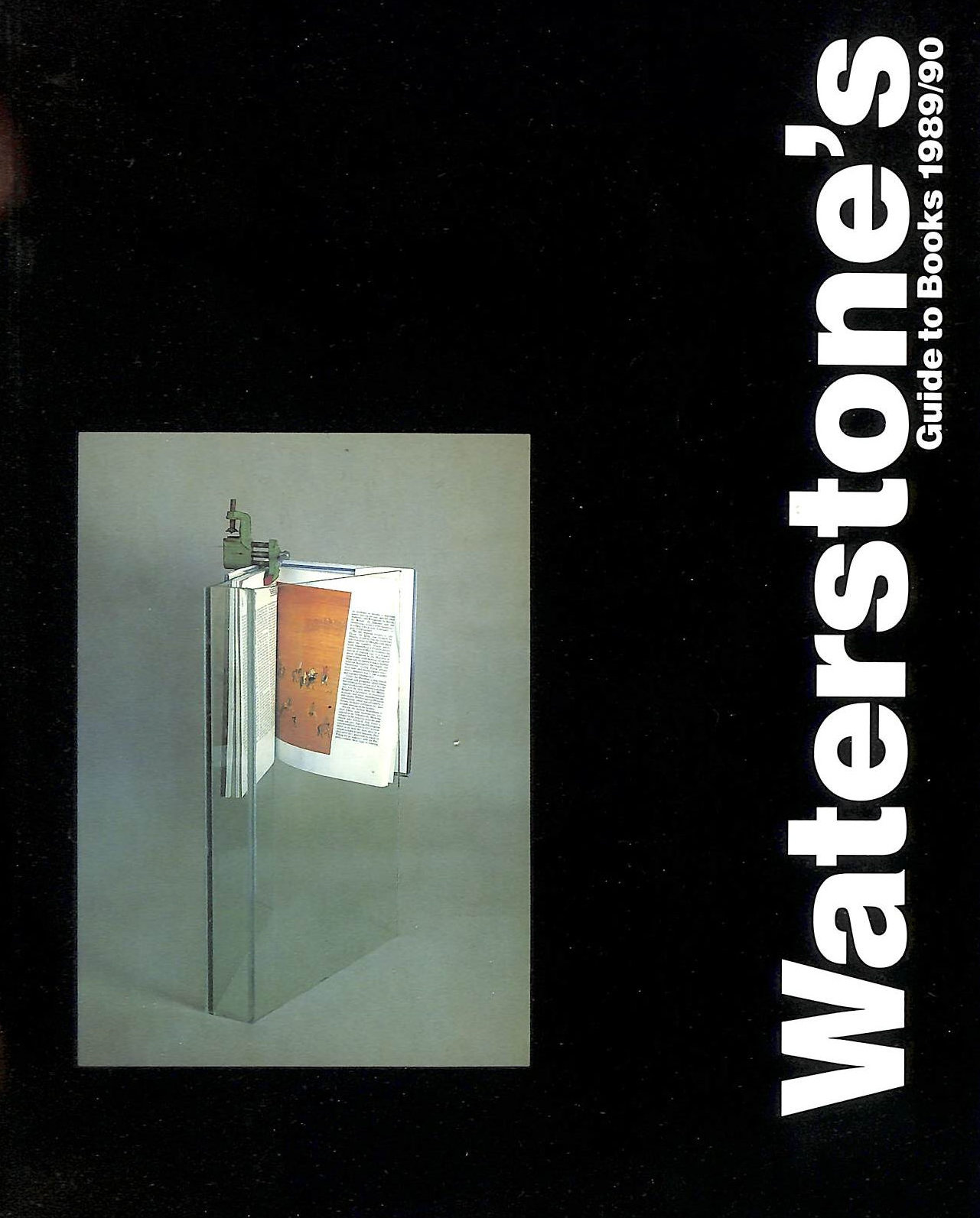 Image for Waterstone's Guide To Books 1989 / 90