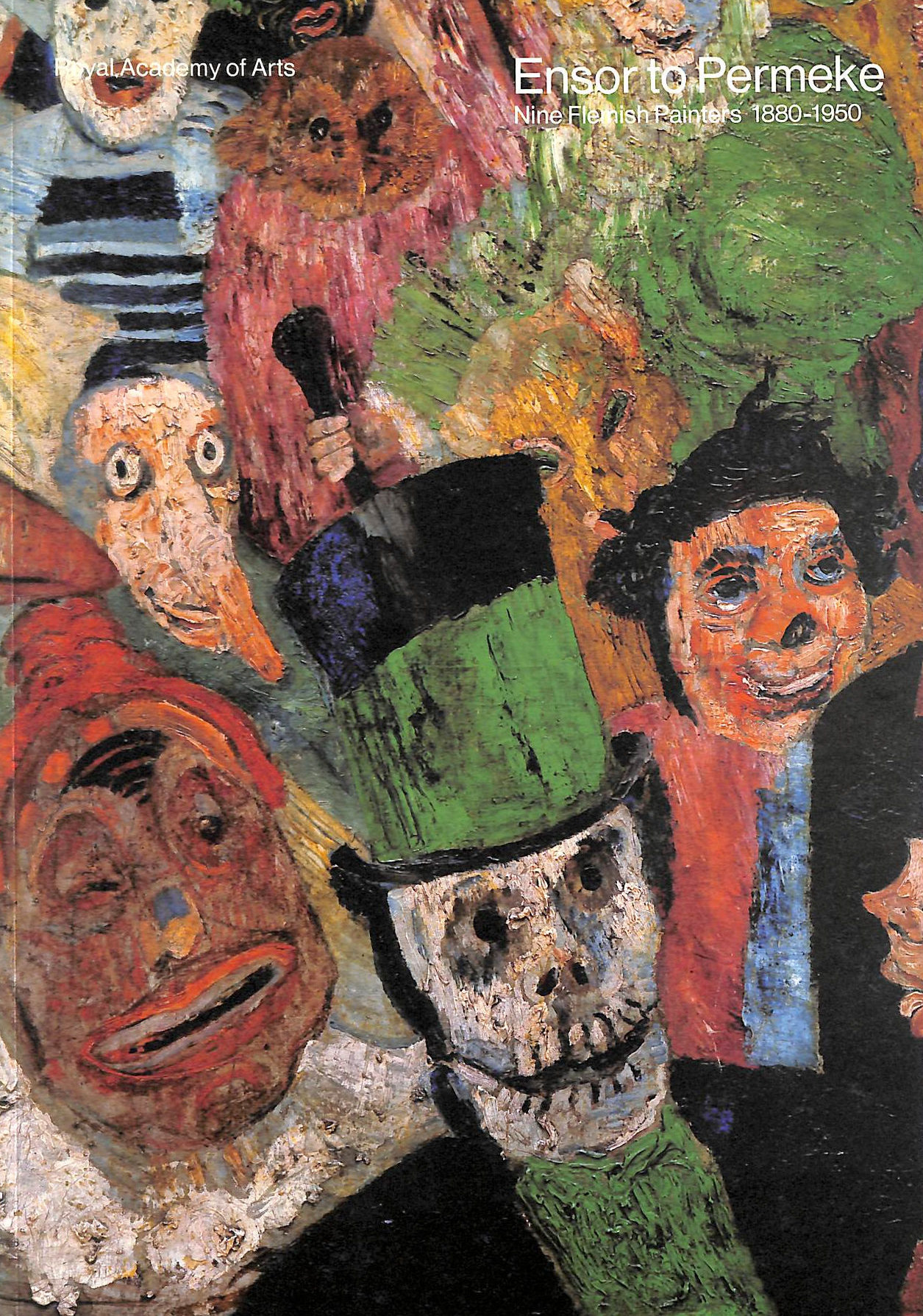 Image for Ensor To Permeke: Nine Flemish Painters, 1880-1950