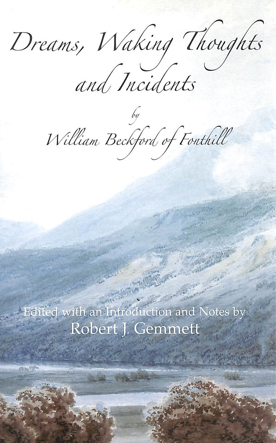 Image for Dreams Waking Thoughts And Incidents (Large Print Edition)