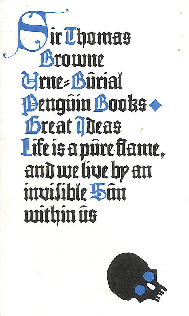 Image for Urne-Burial (Penguin Great Ideas)