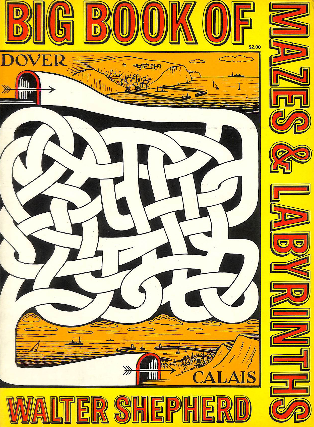 Image for Big Book Of Mazes And Labyrinths (Dover Children's Activity Books)