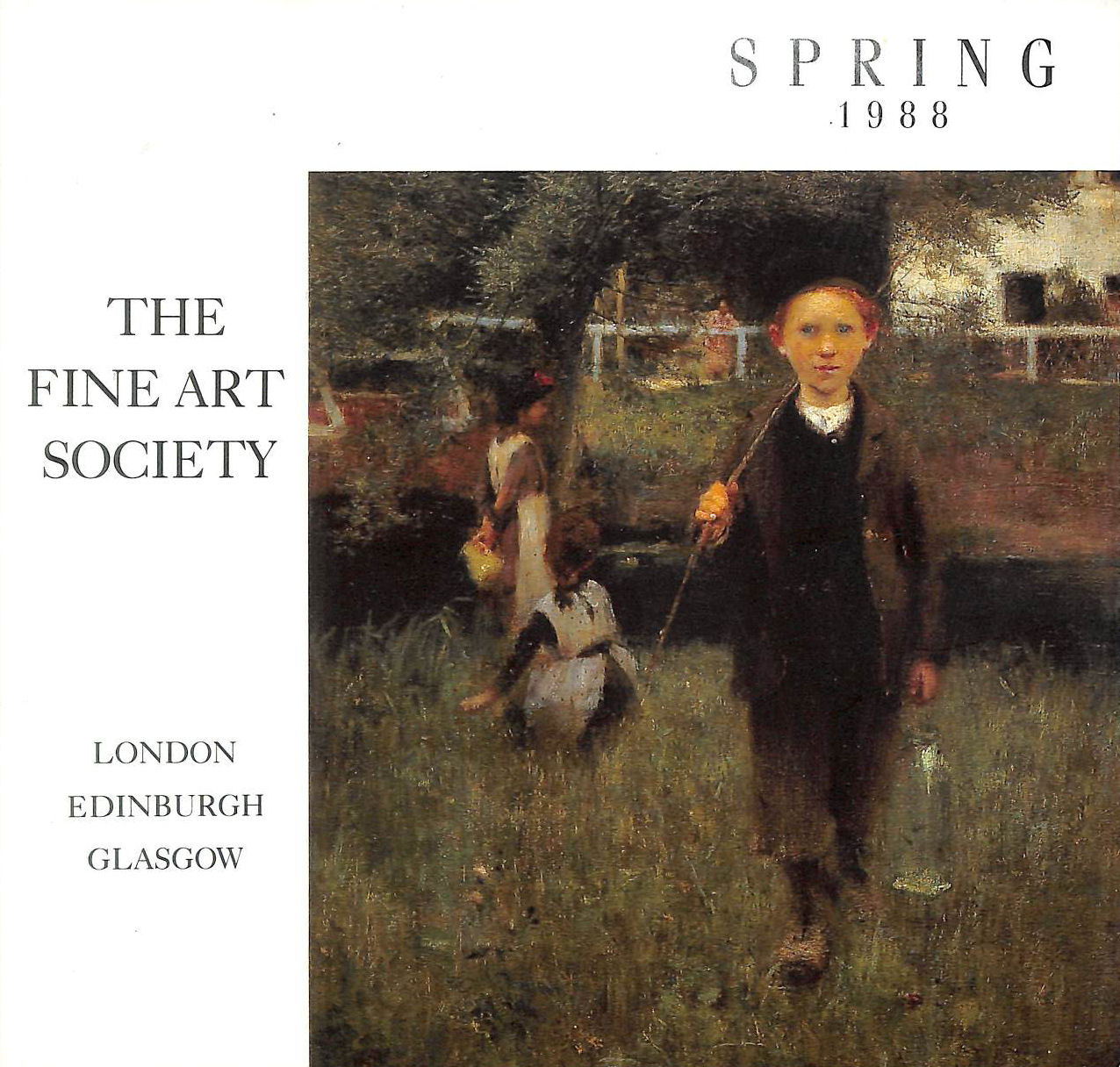 Image for The Fine Art Society. Spring 1988