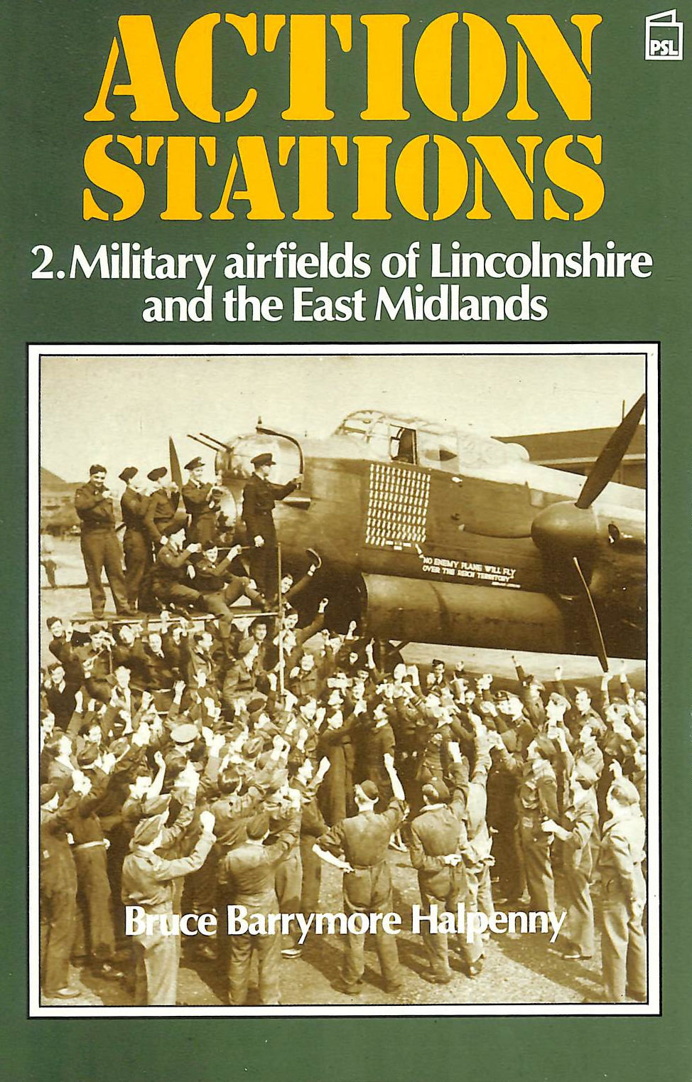 Image for Action Stations - 2. Military Airfields Of Lincolnshire And The East Midlands