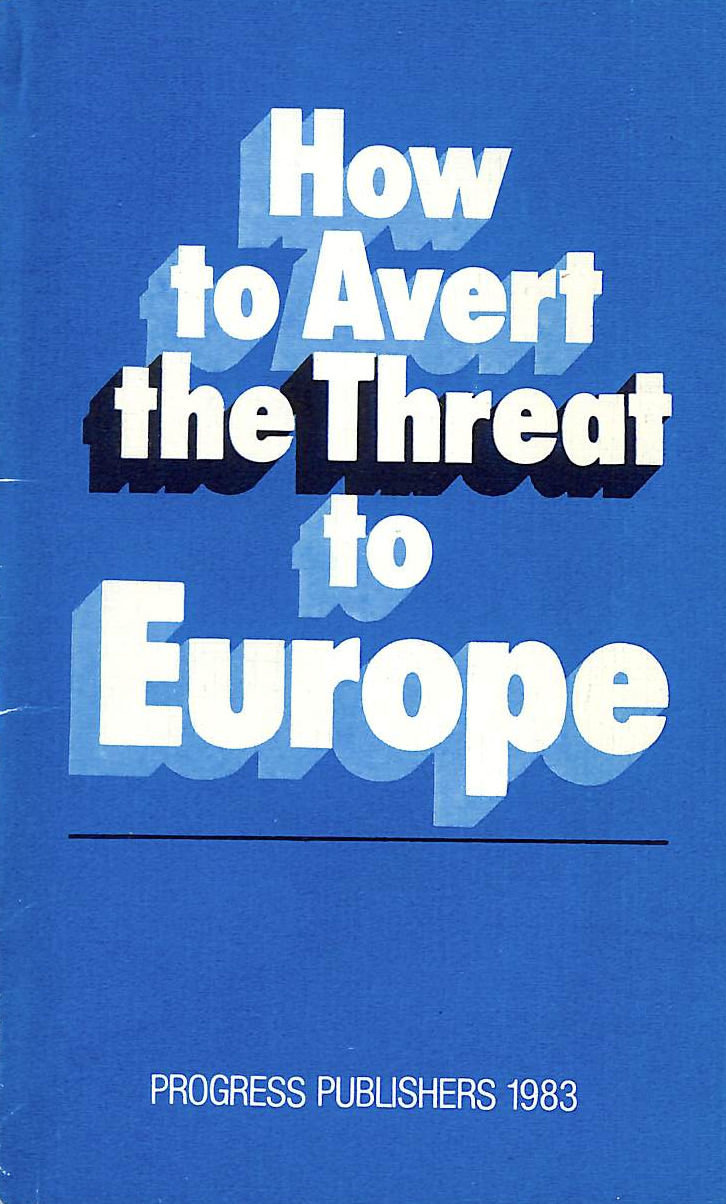 Image for How To Avert The Threat To Europe