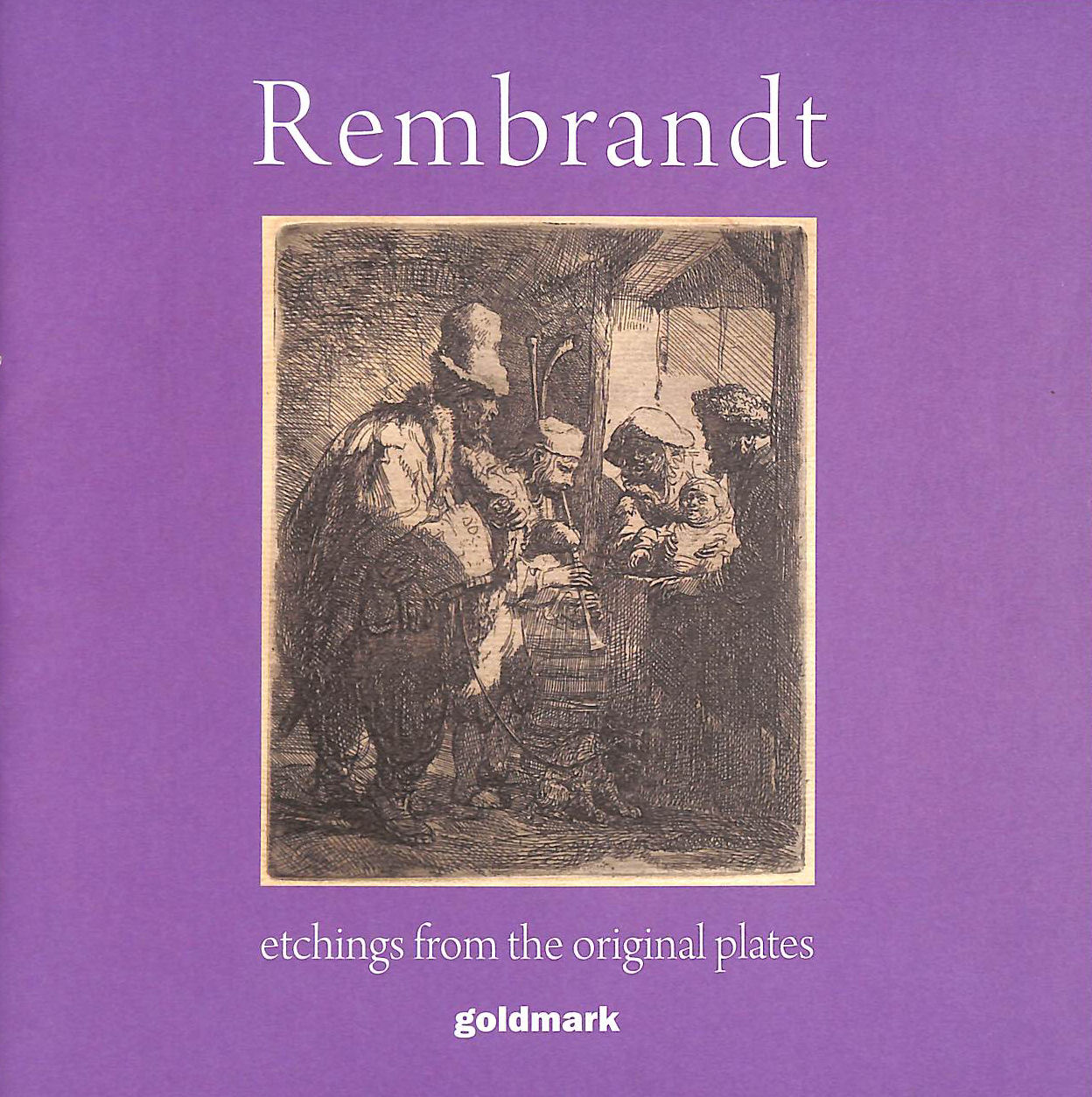 Image for Rembrandt, etchings from the original plates