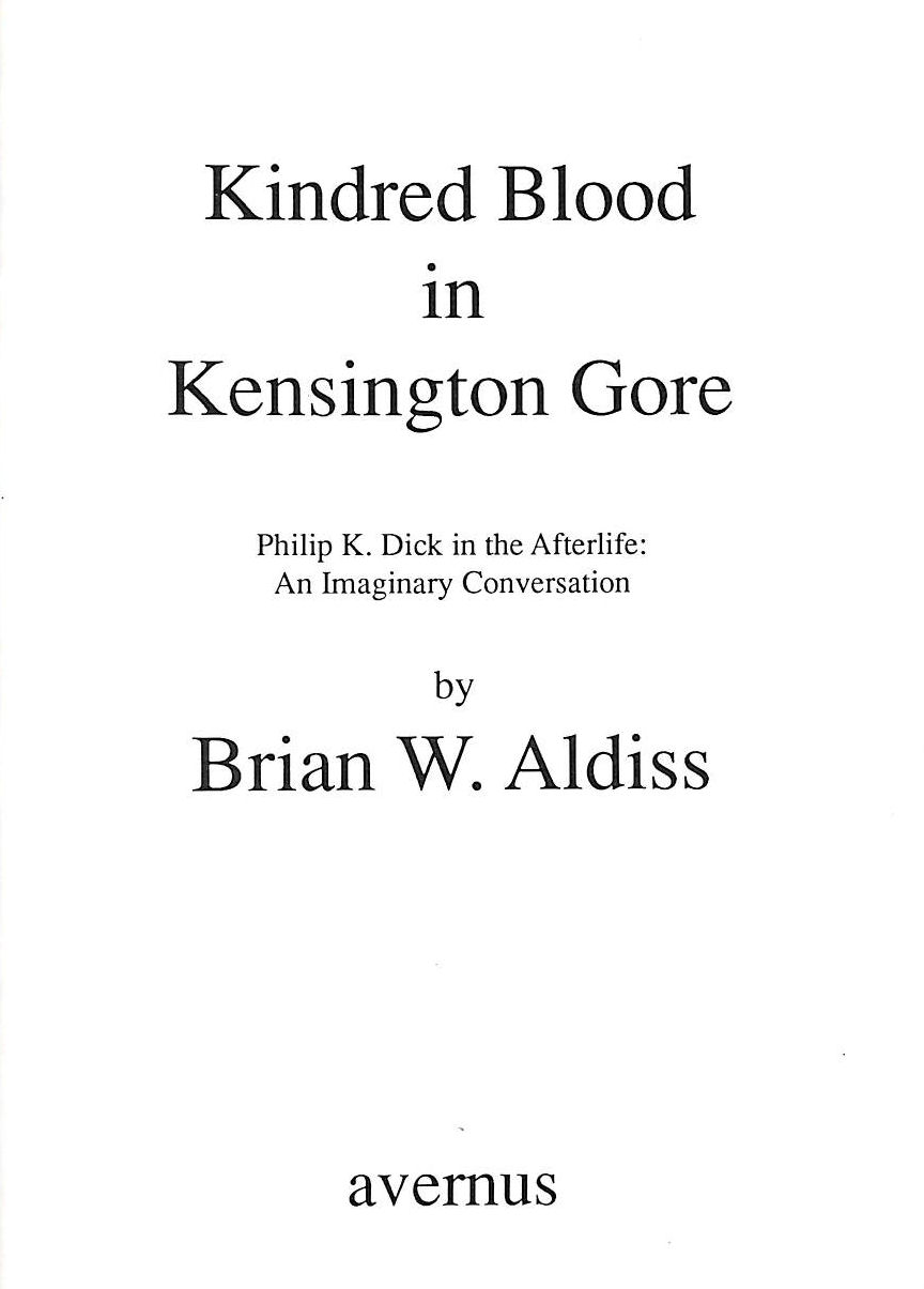 Image for Kindred Blood In Kensington Gore