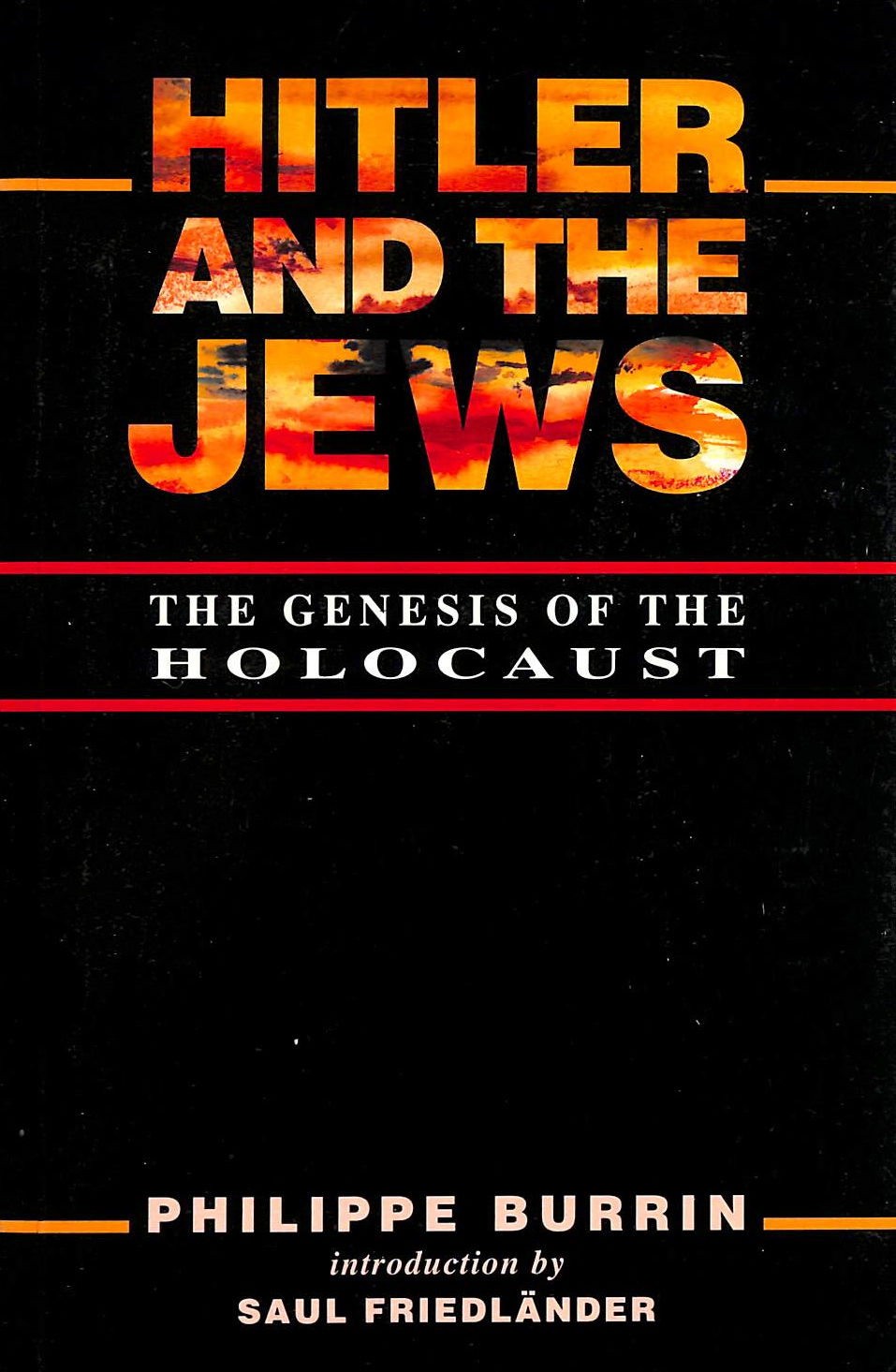 Image for Hitler And The Jews: Genesis Of The Holocaust