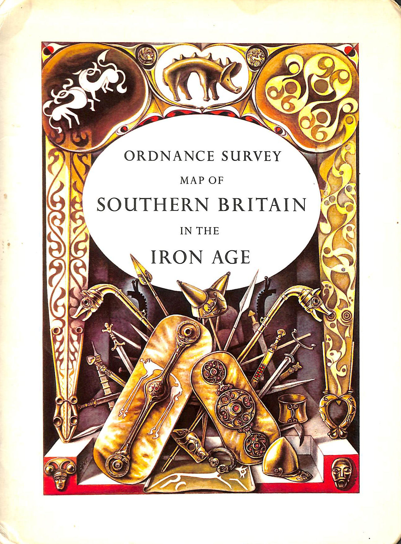Image for Ordnance Survey Map Of Southern Britain In The Iron Age