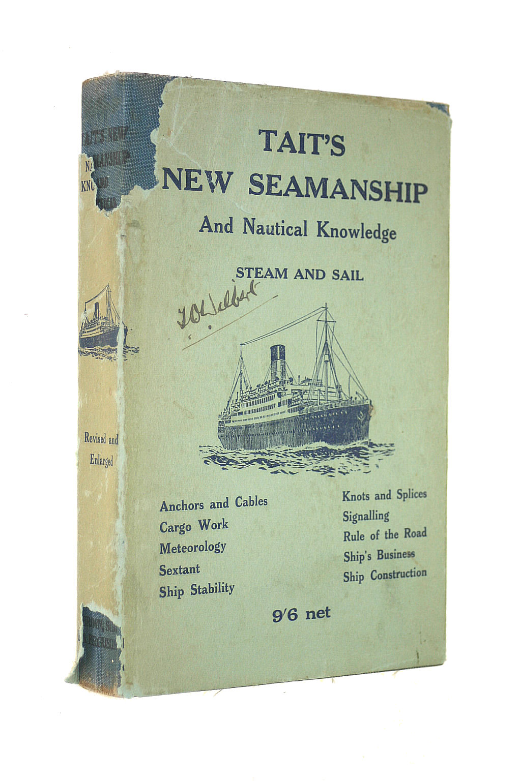 Image for Tait'S New Seamanship And Nautical Knowledge Steam And Sail