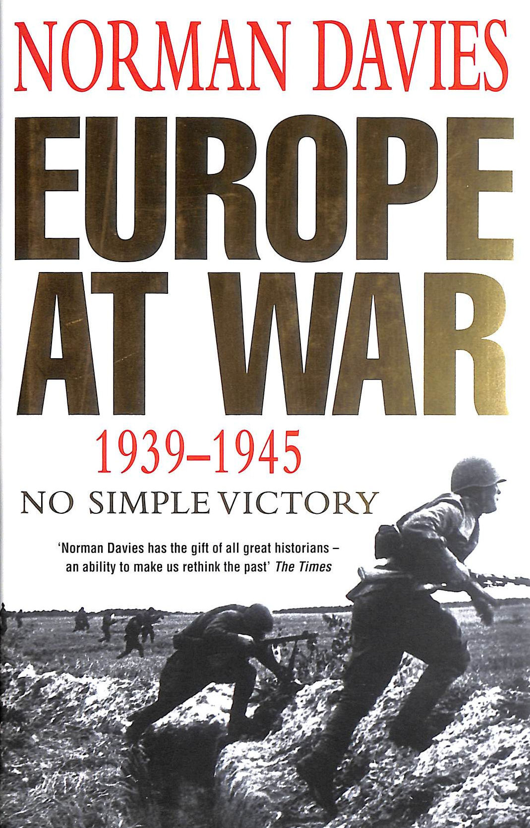 Image for Europe At War 1939-1945: No Simple Victory