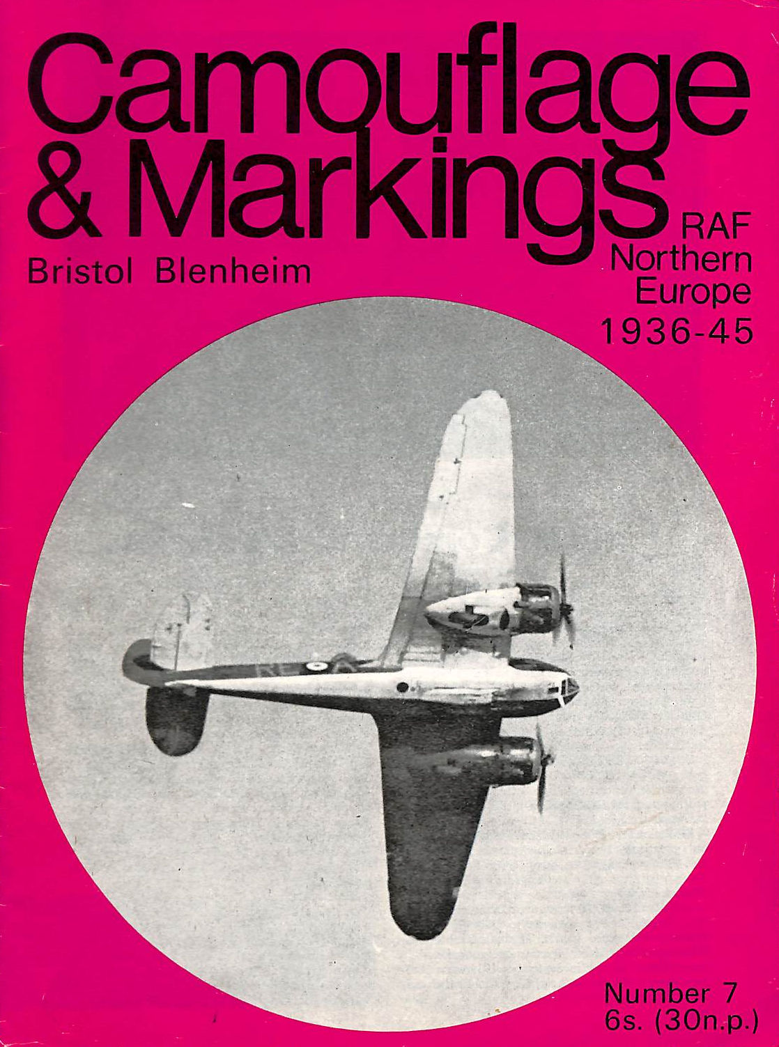 Image for Camouflage & Markings No. 7 : Bristol Blenheim : Raf Northern Europe 1936-45