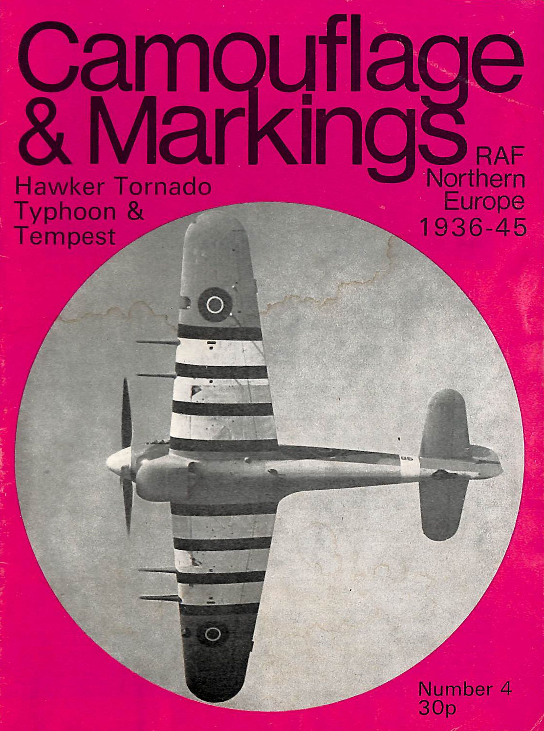 Image for Hawker Typhoon & Tempest - Camouflage & Markings, Raf Northern Europe 1936-45