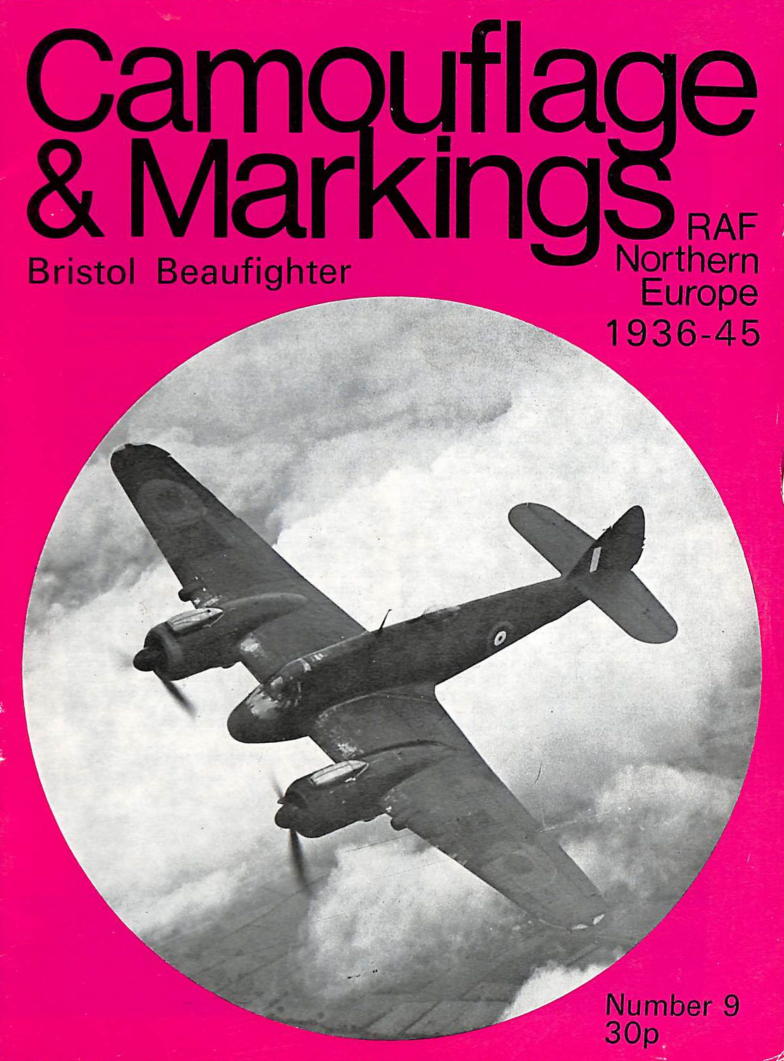 Image for Bristol Beaufighter - Camouflage & Markings, Raf Northern Europe 1936-45 (Camouflage & Markings, Raf Northern Europe 1936-45)