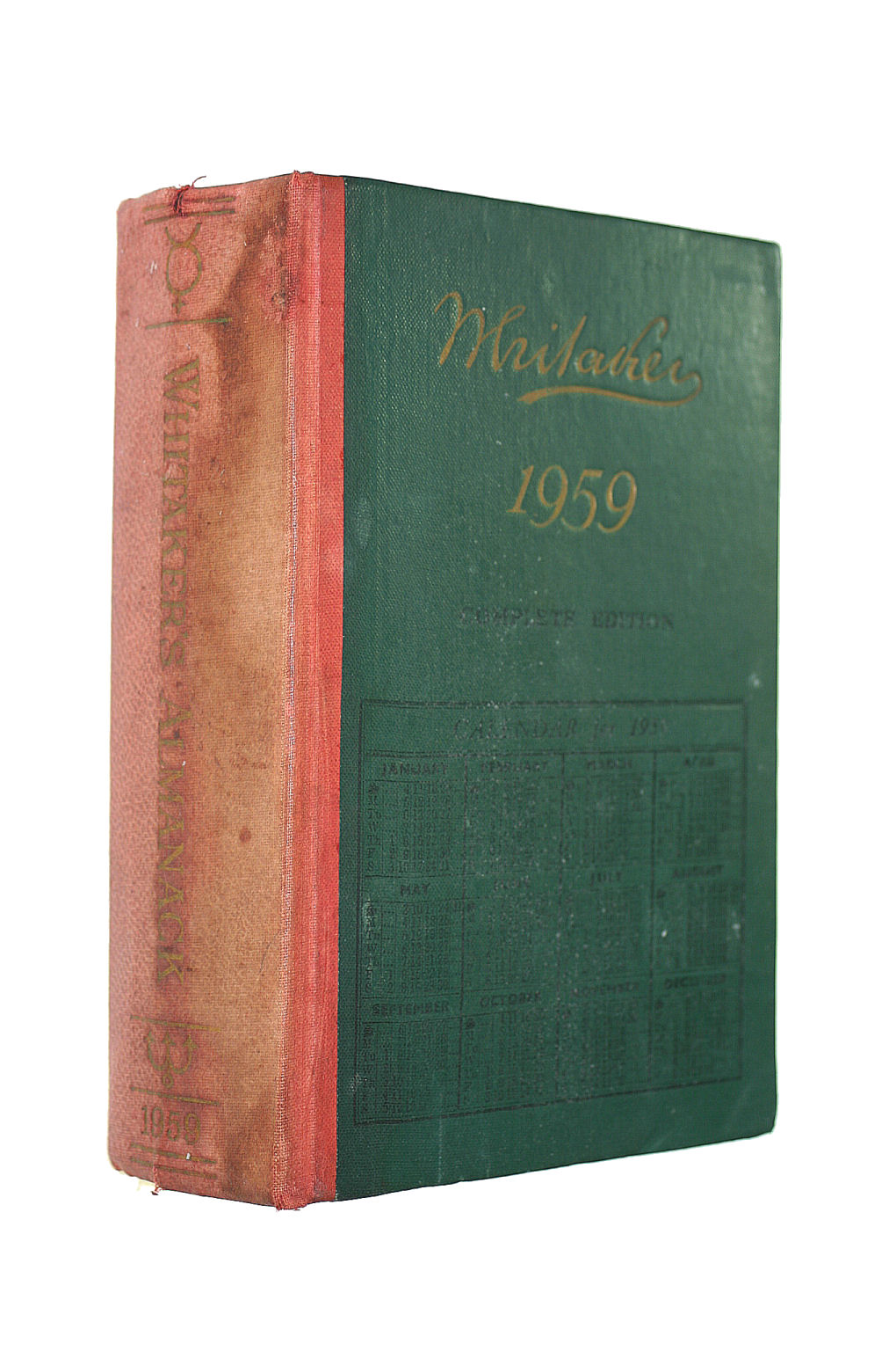 Image for Whitaker's Almanac 1959 (Complete Edition 1959, 91St Edition)