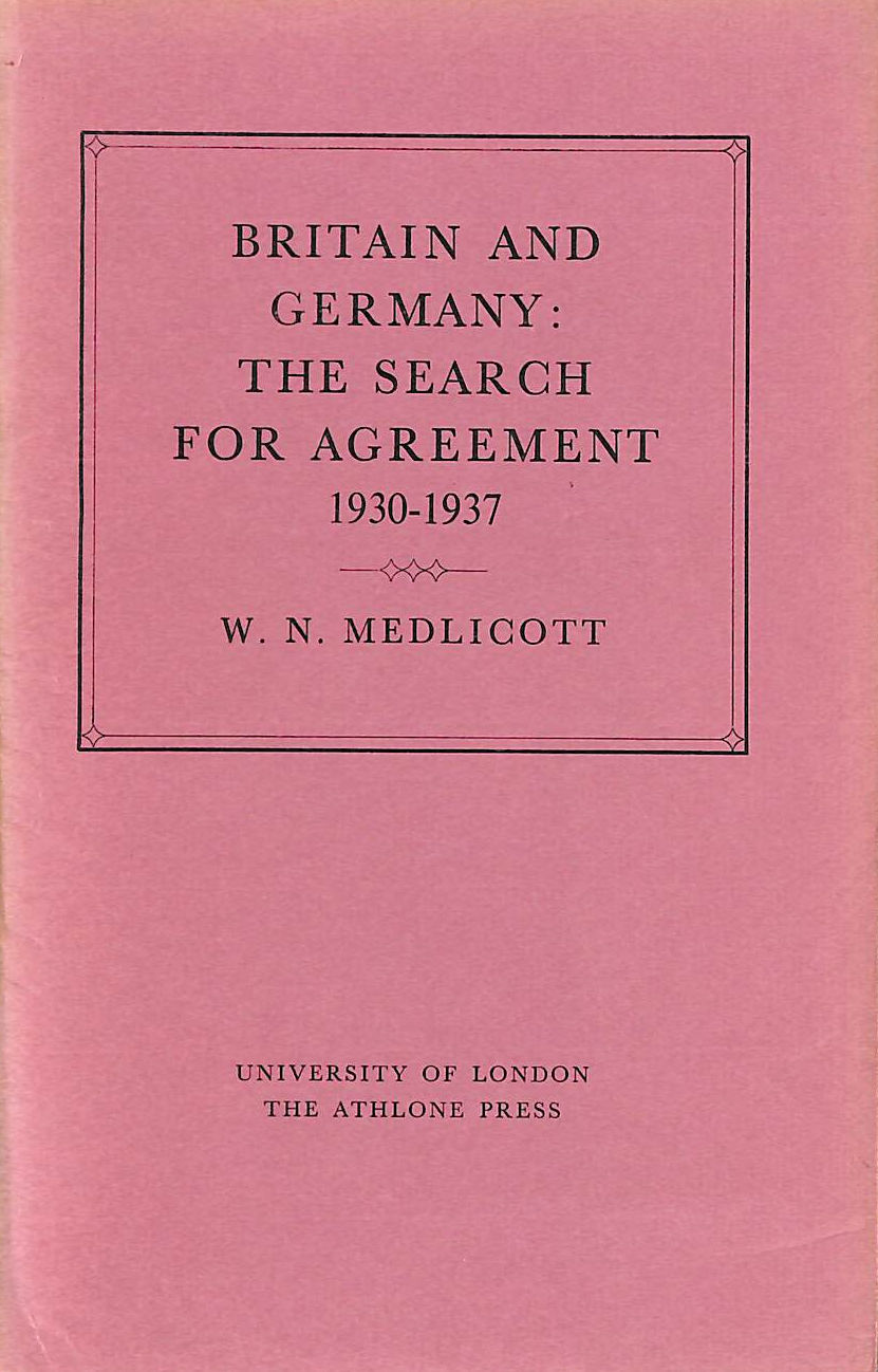 Image for Britain And Germany: The Search For Agreement, 1930-37