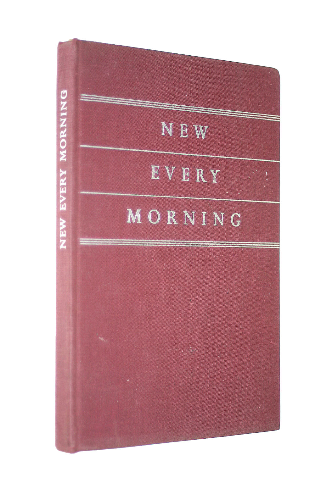 Image for New Every Morning (The Prayer Book Of The Daily Broadcast Service)