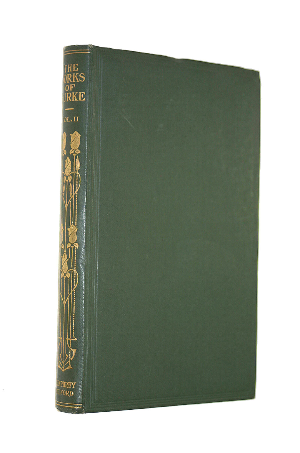 Image for The Works Of The Right Honourable Edmund Burke (Vol Ii Only