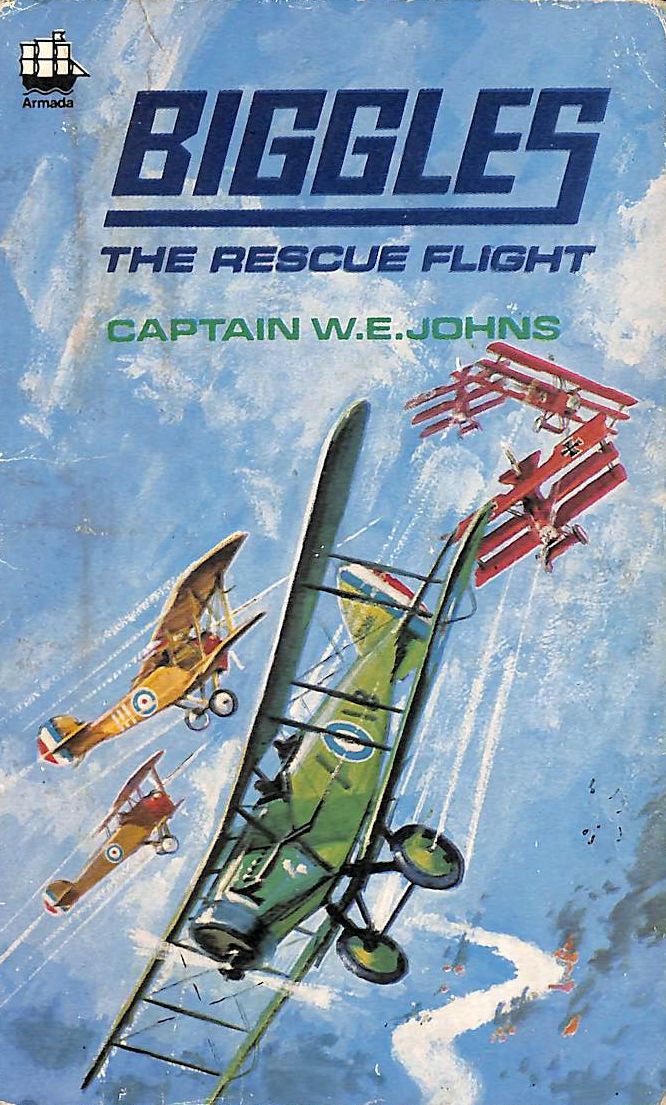 Image for Biggles The Rescue Flight