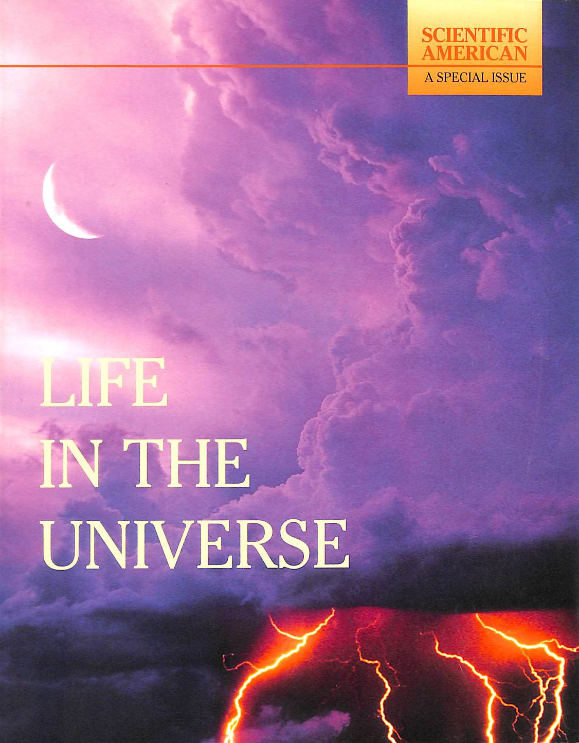 Image for Life In The Universe: A Scientific American Special Issue