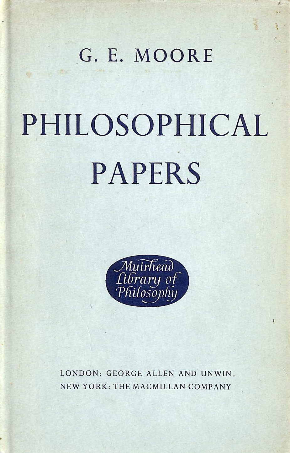 Image for Philosophical Papers