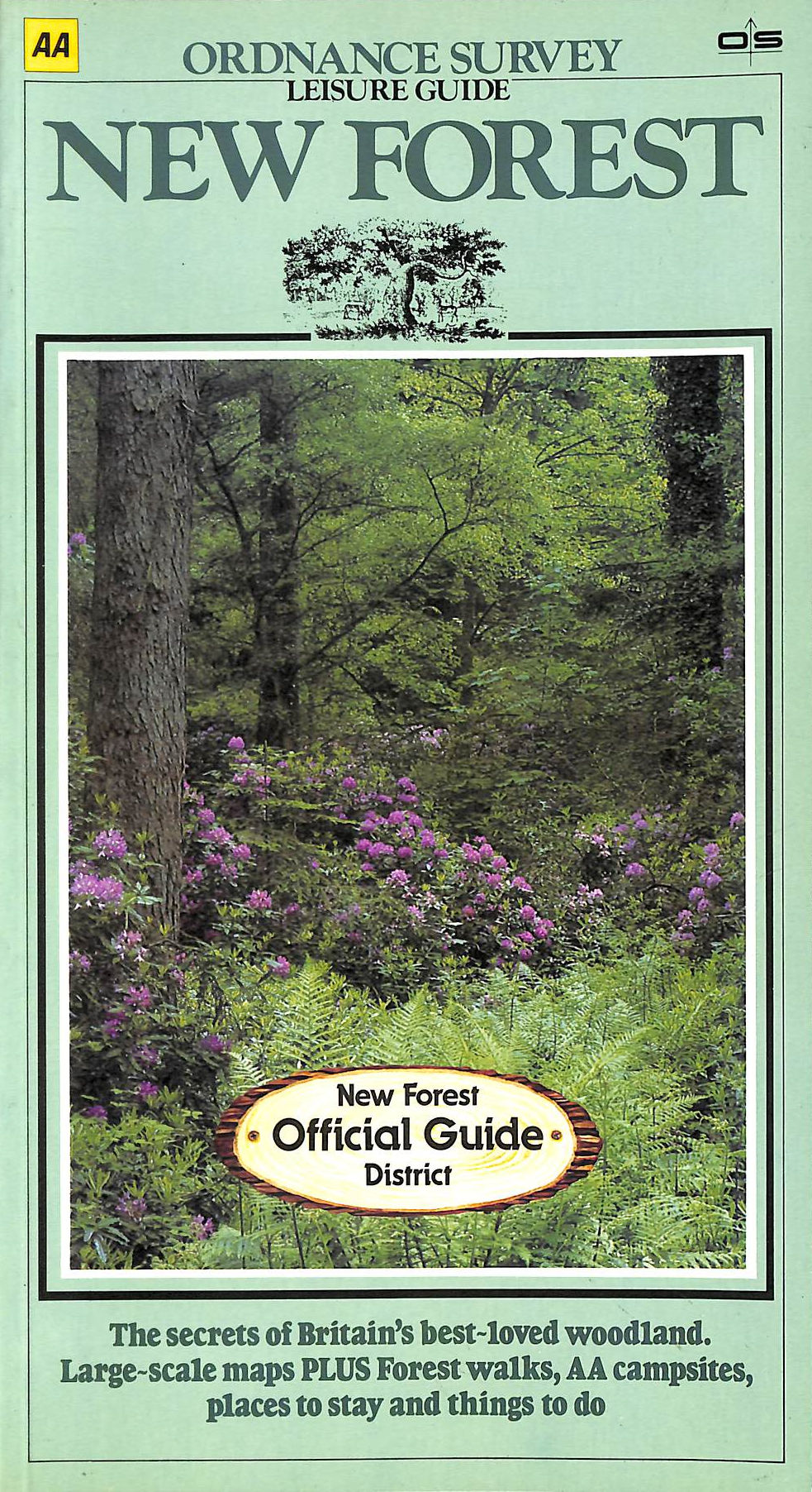 Image for Leisure Guide New Forest (Aa / Os Leisure Guide)