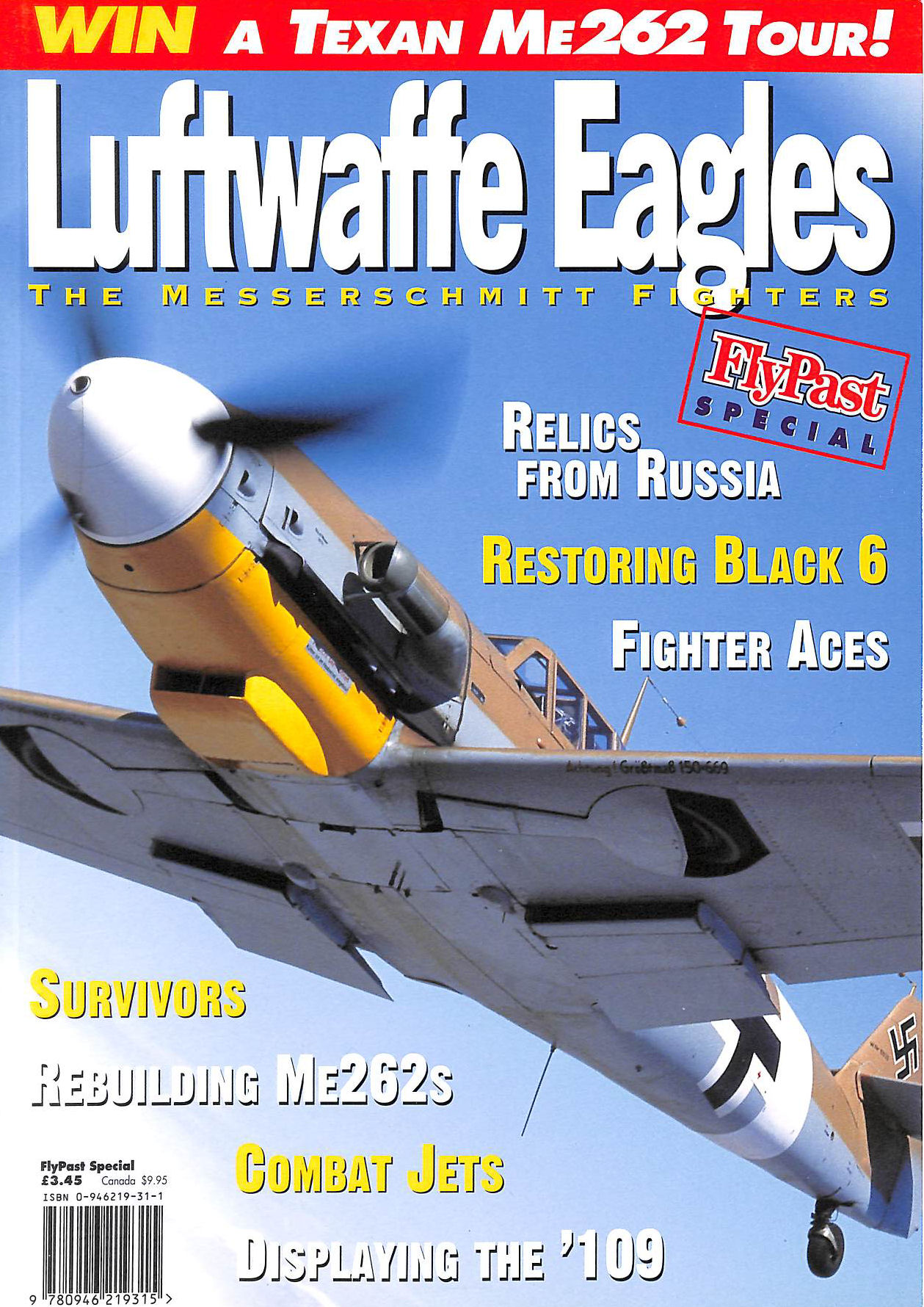 Image for Luftwaffe Eagles | The Messerschmitt Fighters | Flypast Special