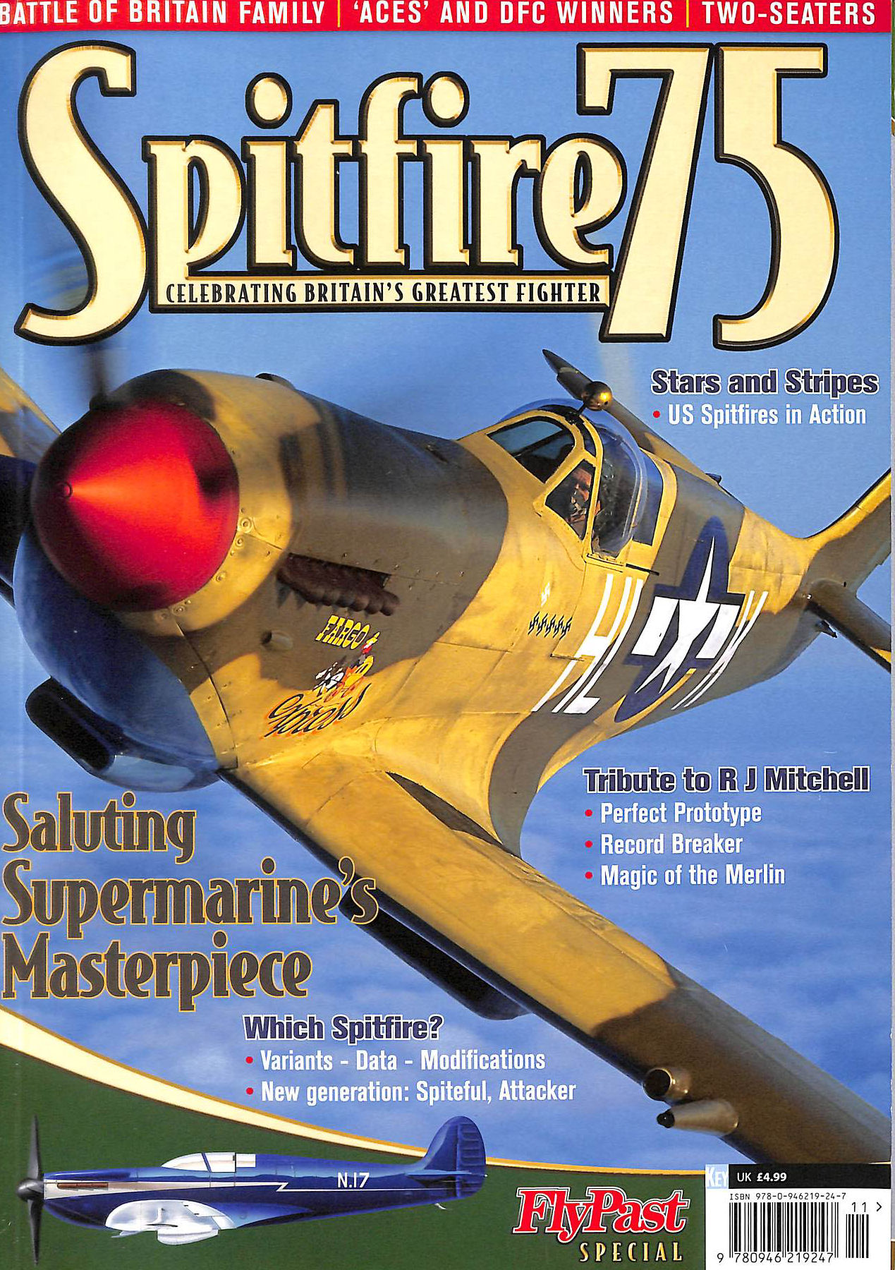 Image for Spitfire 75: Celebrating Britain's Greatest Fighter (One Shot)
