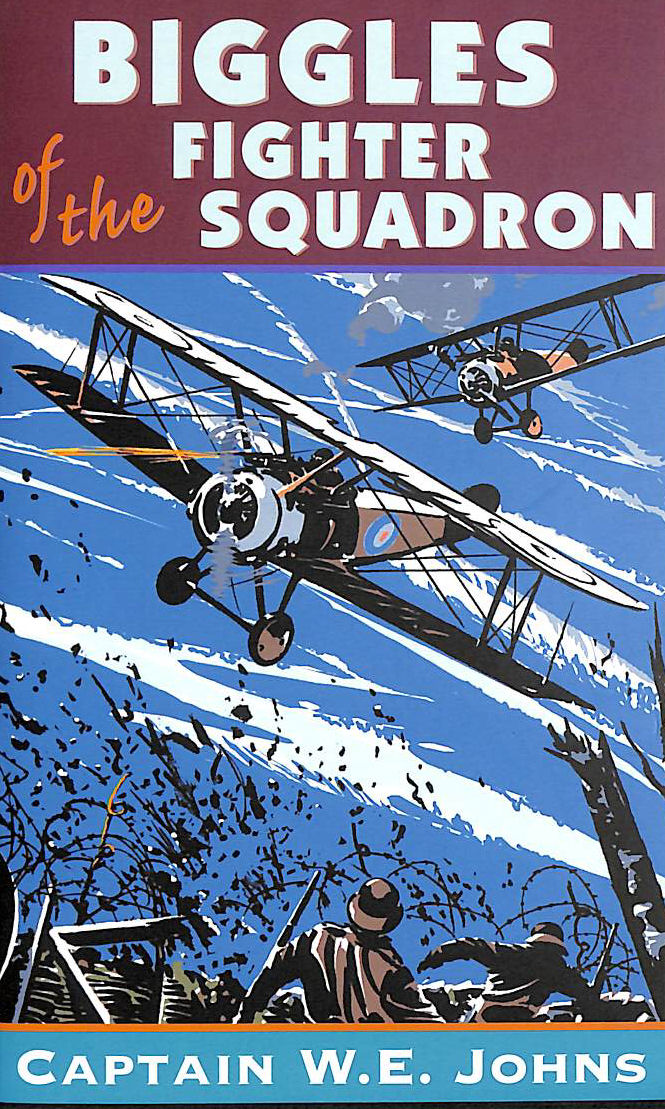 Image for Biggles Of The Fighter Squadron