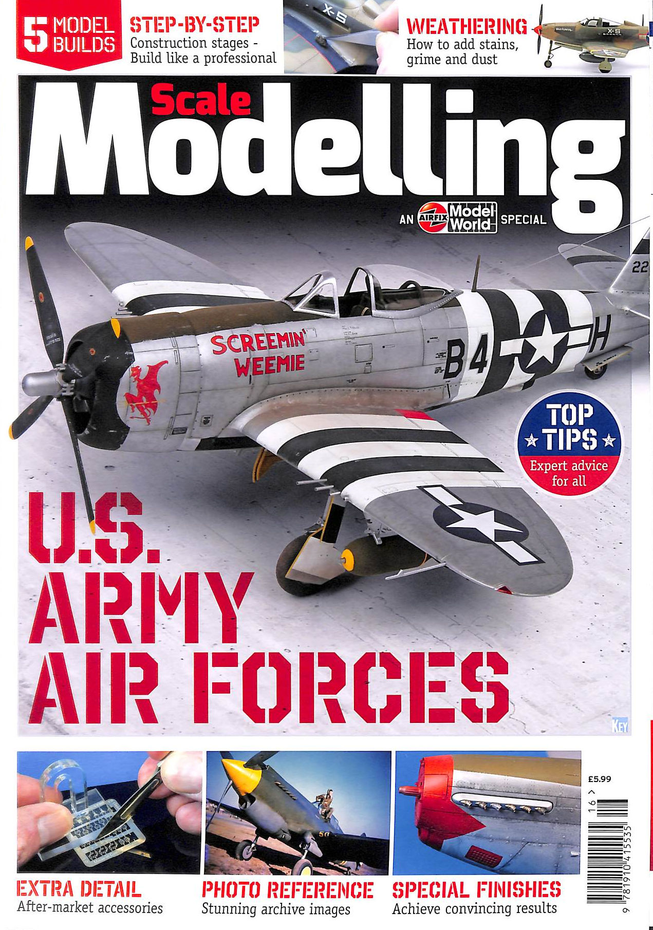Image for Scale Modelling Step By Step U.S. Army Air Forces