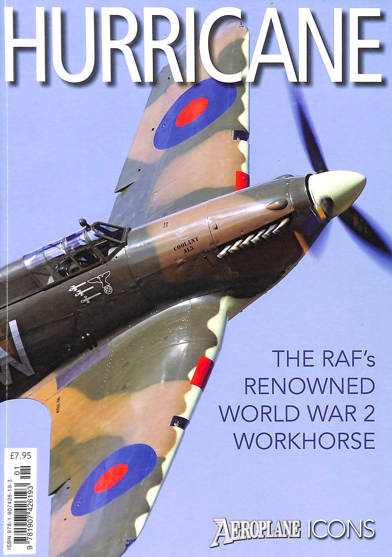 Image for Hurricane | The Raf'S Renowned World War Ii Workhorse | Aeroplane Icons