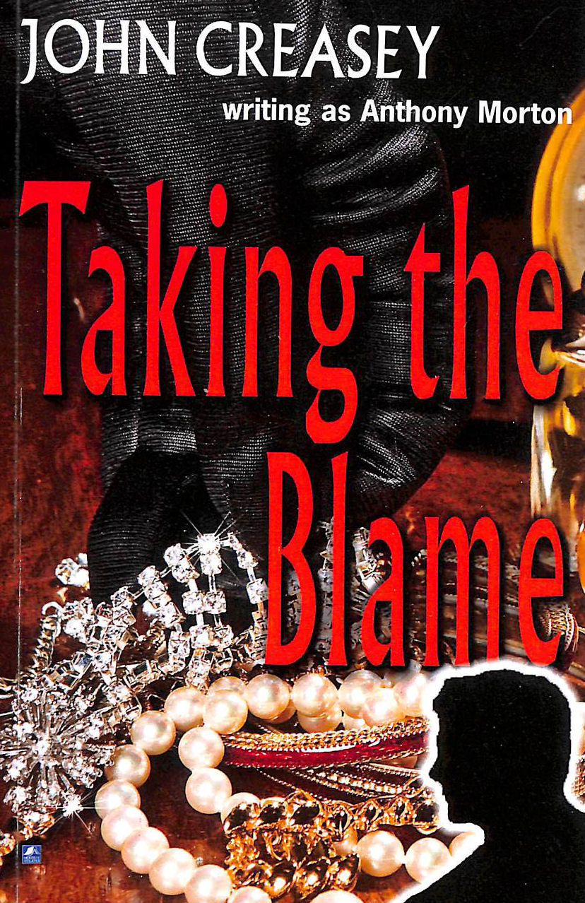 Image for Taking The Blame: (Writing As Anthony Morton) (The Baron)
