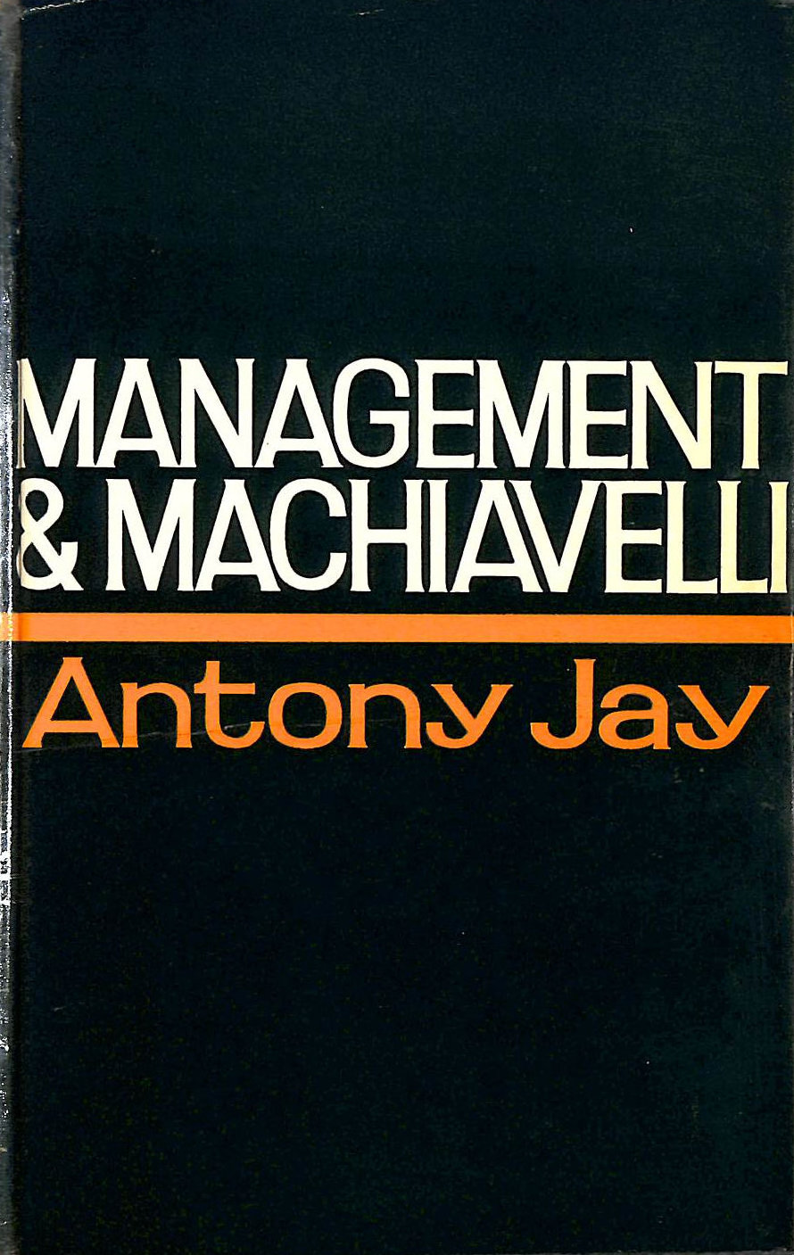 Image for Management And Machiavelli