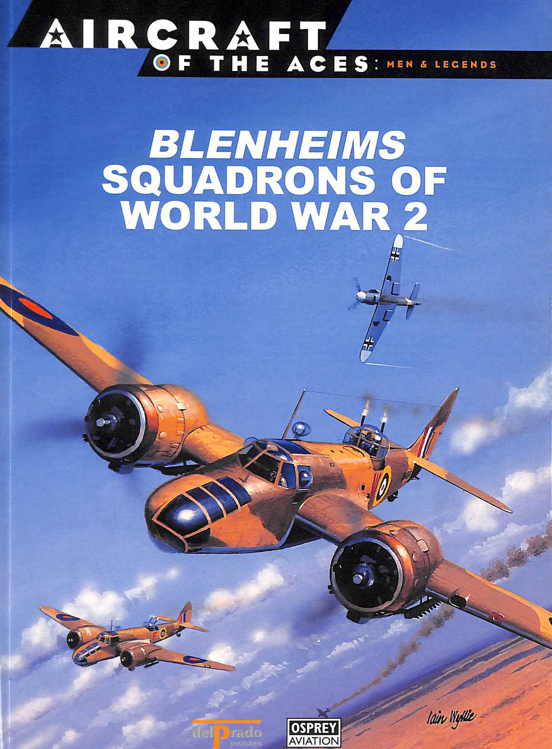 Image for Blenheims Squadrons Of World War 2 (Aircraft Of The Aces: Men And Legends