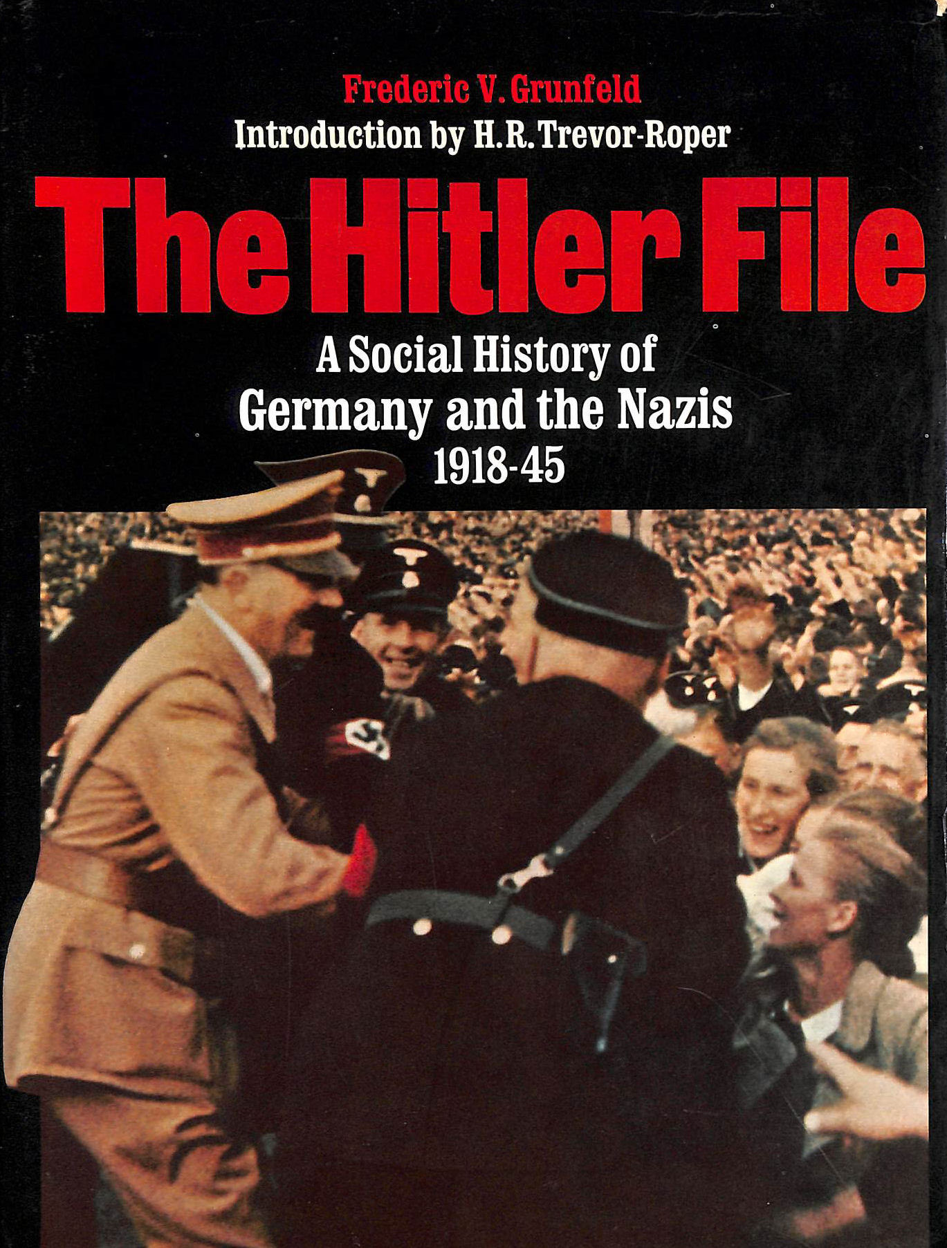 Image for Hitler File: A Social History Of Germany And The Nazis, 1918-45