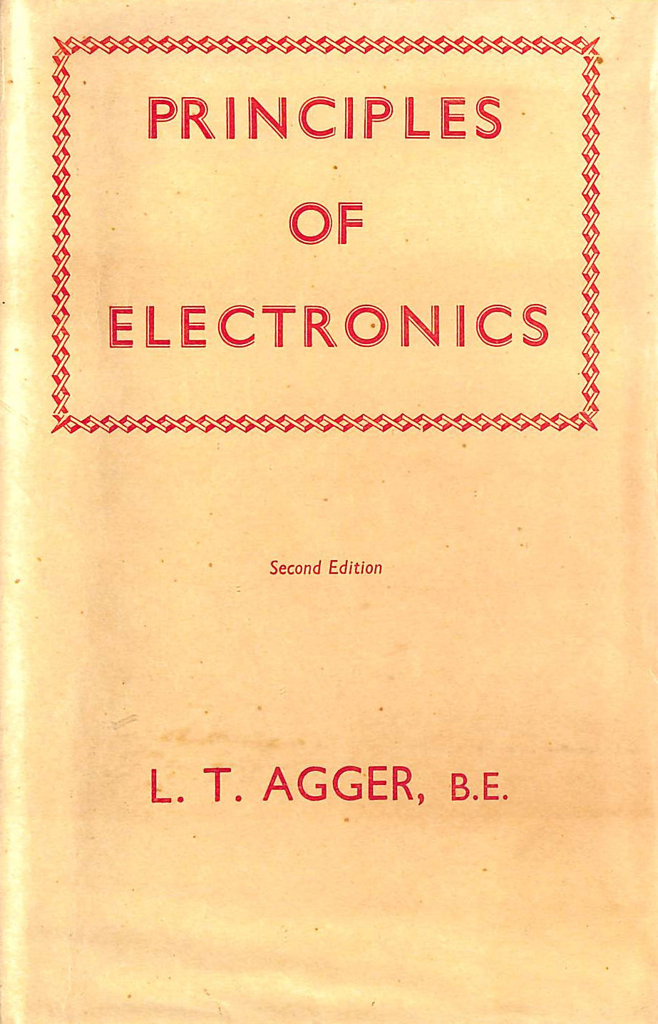 Image for Principles Of Electronics