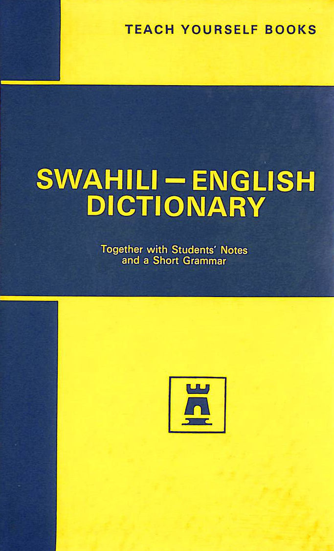 Image for Swahili Dictionary