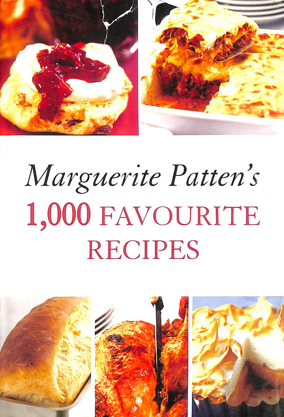Image for Marguerite Patten's 1,000 Favourite Recipes