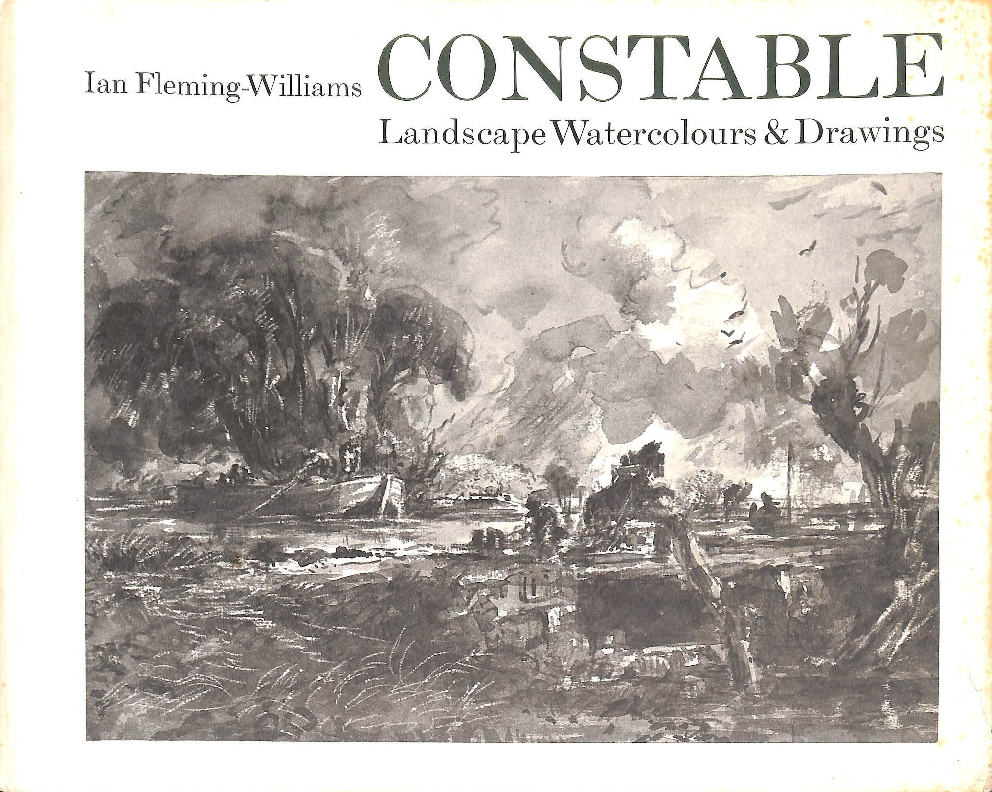 Image for Constable: Landscape Watercolours And Drawings