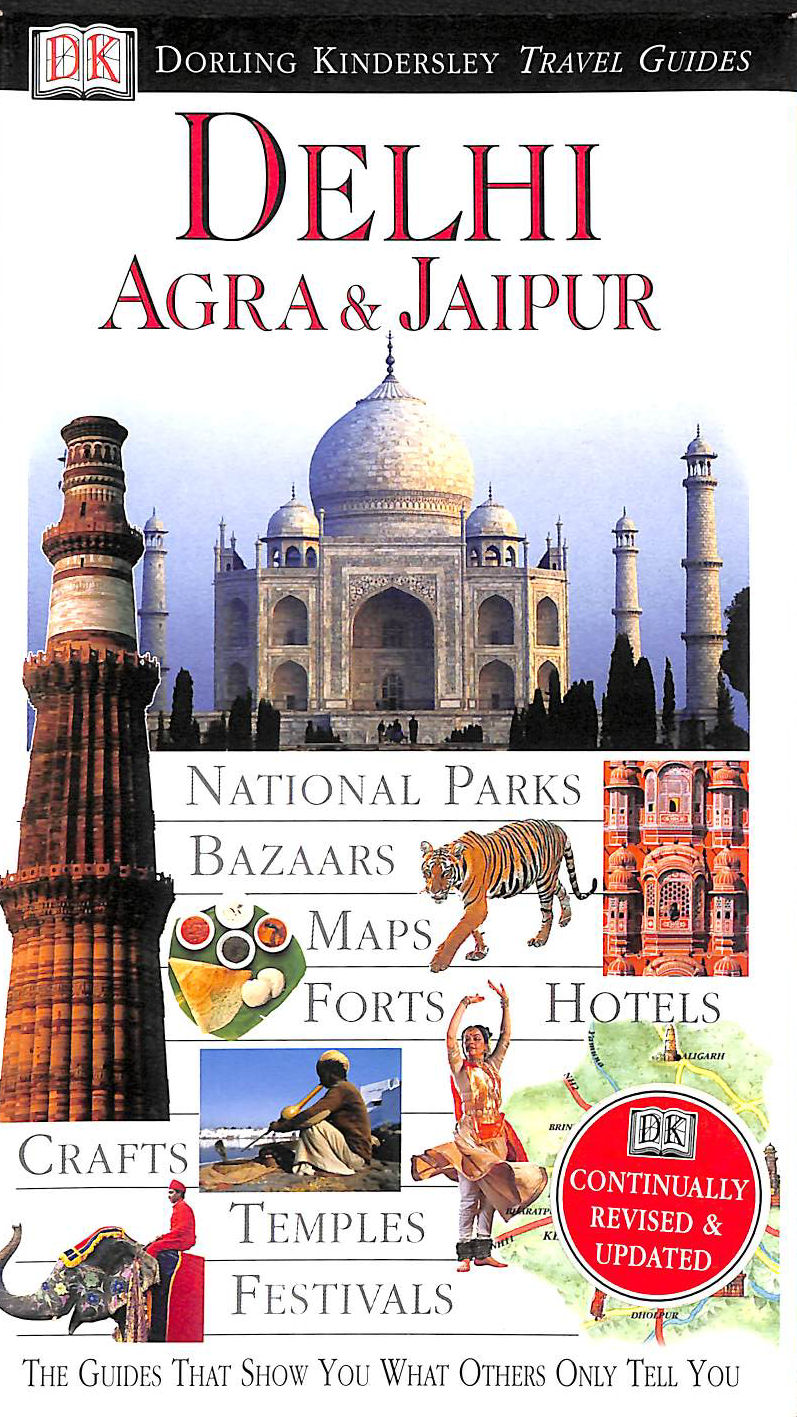 Image for Dk Eyewitness Travel Guide: Delhi, Agra & Jaipur