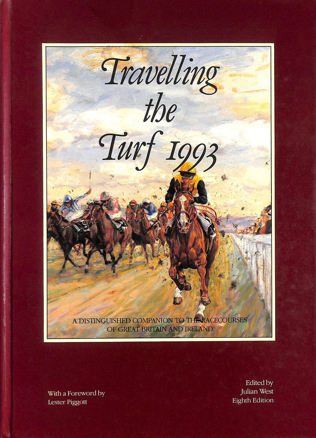 Image for Travelling The Turf 1993: Distinguished Companion To The Racecourses Of Great Britain And Ireland