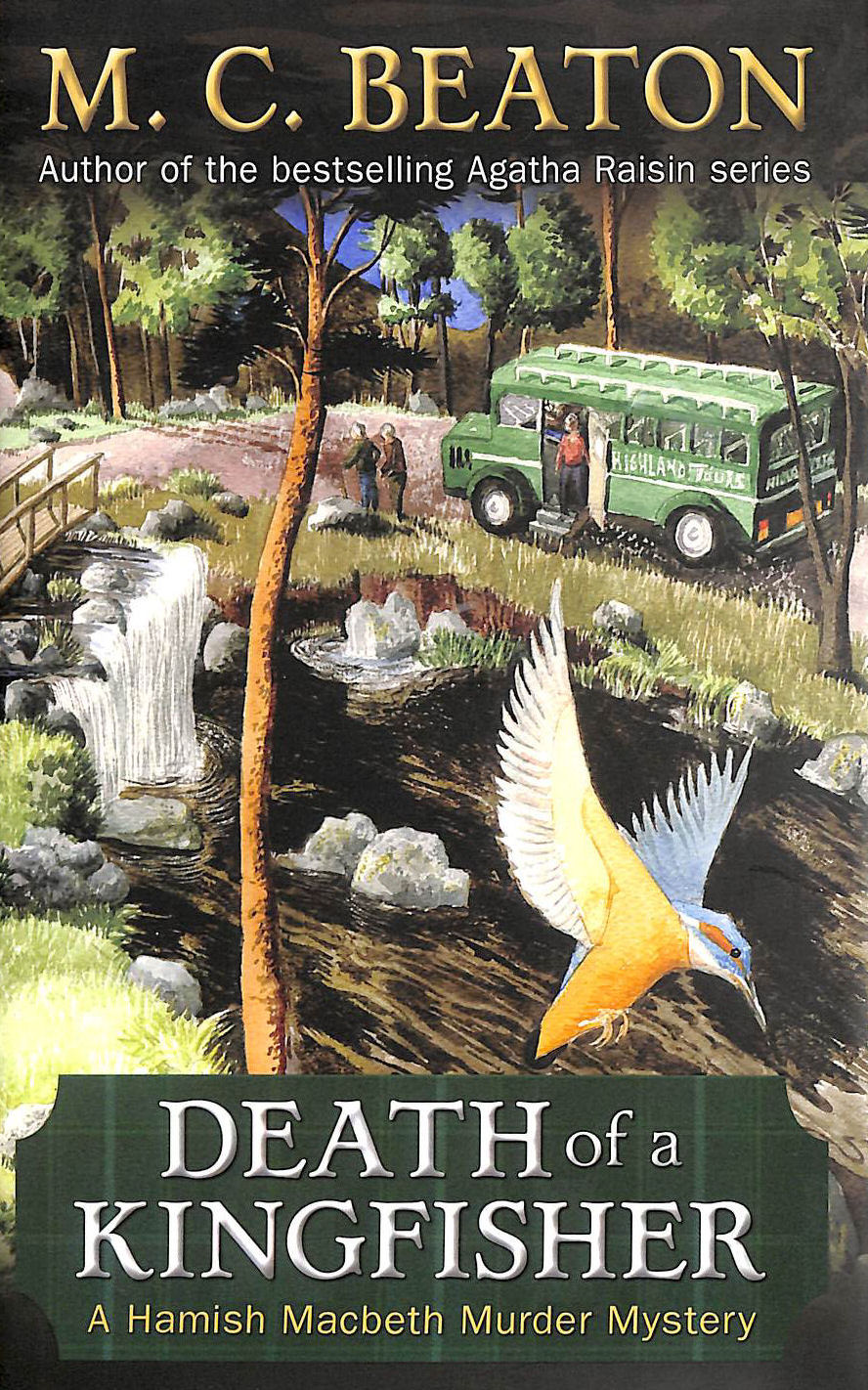 Image for Death Of A Kingfisher (Hamish Macbeth)