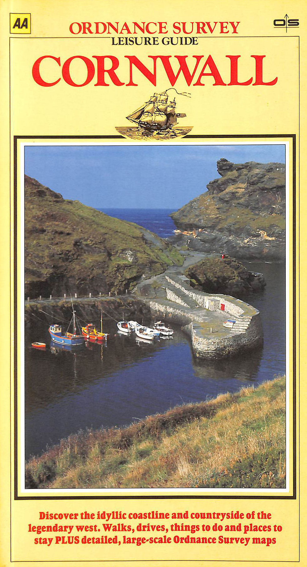Image for Cornwall (Ordnance Survey Leisure Guide)