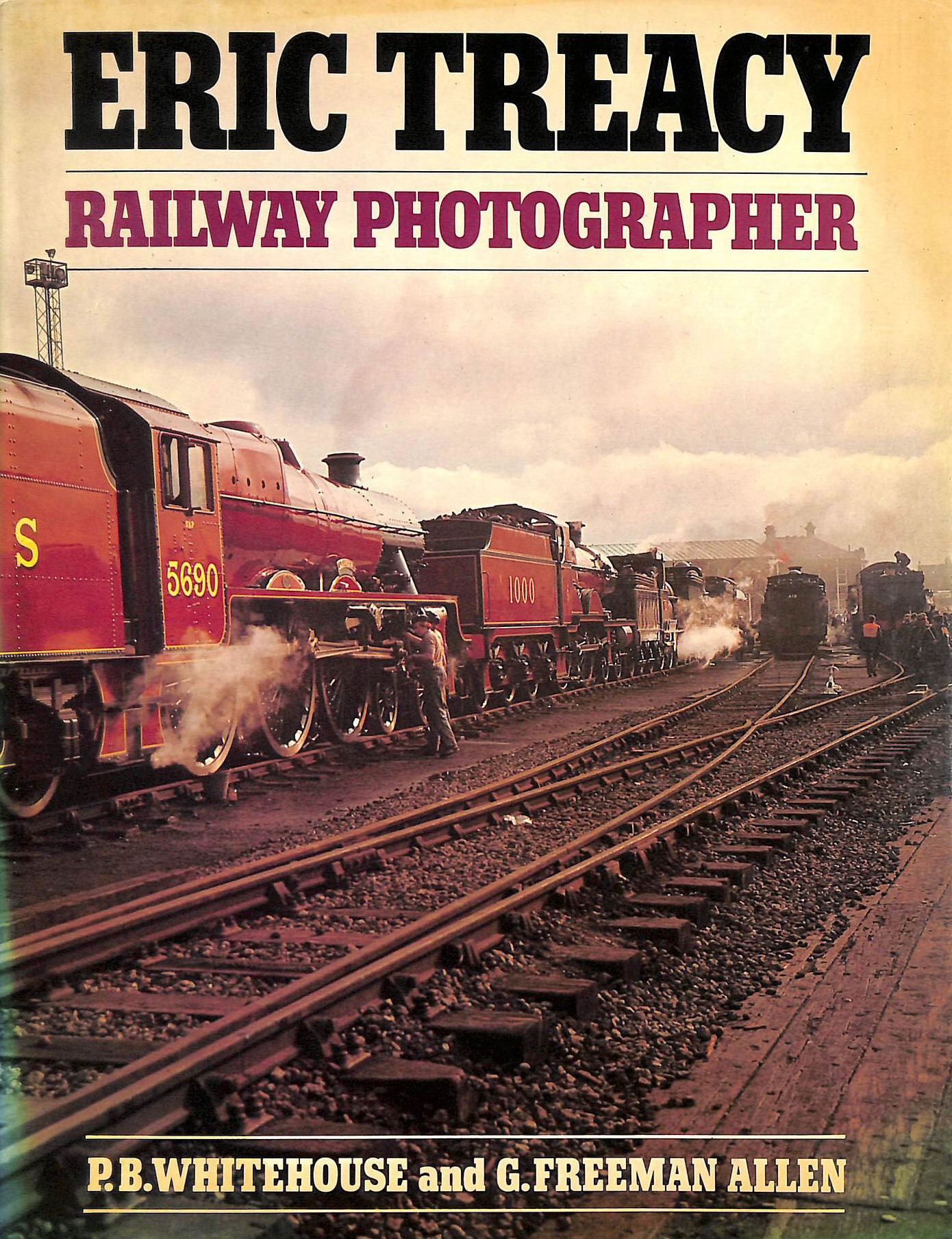 Image for Eric Treacy: Railway Photographer