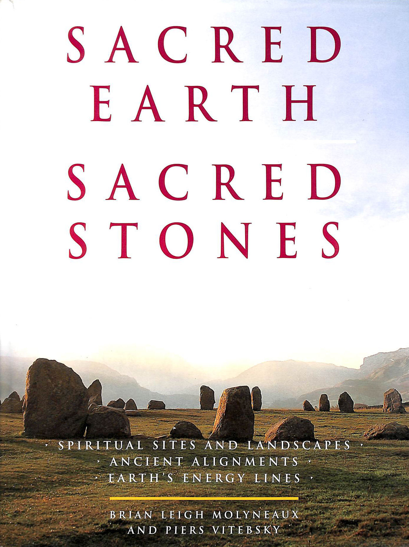 Image for Sacred Earth, Sacred Stones