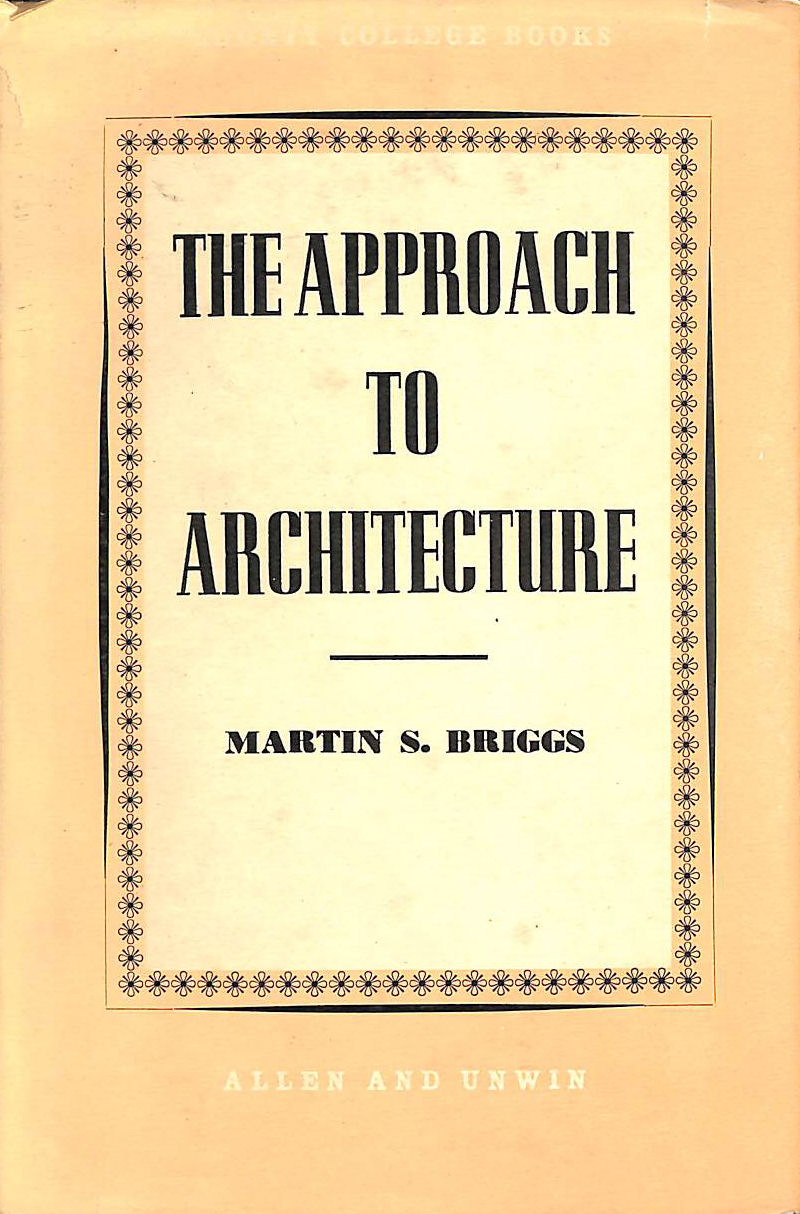 Image for The Approach To Architecture